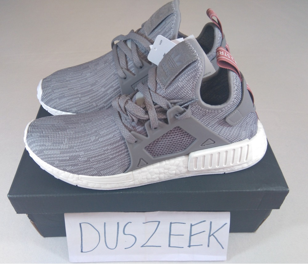 d316a2166 Mens adidas NMD Xr1 Primeknit Zebra White Black Core Red Bb2911