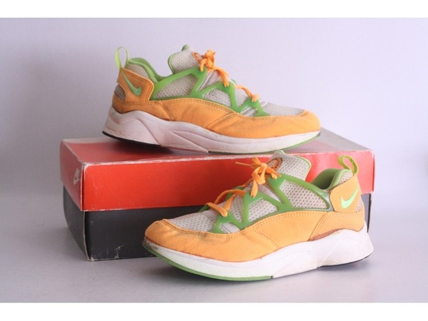 Nike Air Huarache Racer 1994 US8 UK7 with OG box Lime - photo 1/8