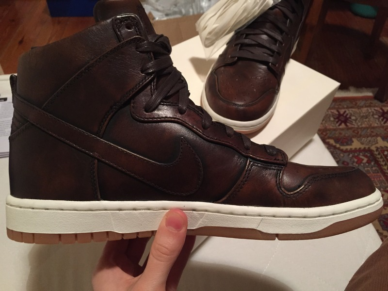 innovative design f982c b0d99 ... Nike Lab Dunk High SP LUX Burnished Leather - photo 24 ...