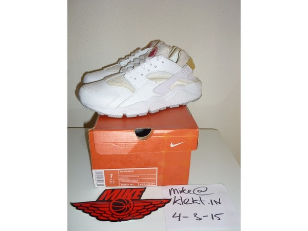 <strong>Nike</strong> <strong>Air</strong> Huarache Leather White/Varsity-Red current max 1 90 <strong>180</strong> 93 <strong>lunar</strong> flywire patch patta atmos - photo 1/9