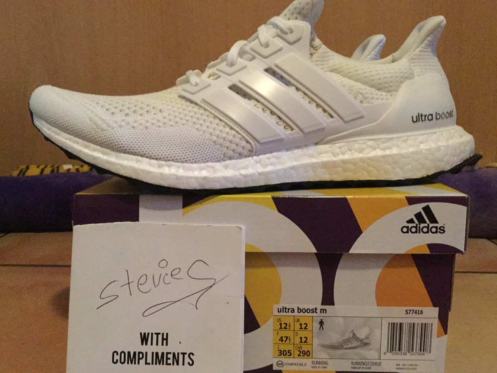 0a1b770c7 XMAS Special Adidas Ultra Boost 1.0 All Triple White Key City Pack - photo  1/