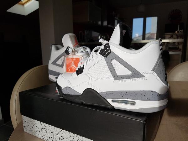 Jordan AIR JORDAN 4 White cement - photo 1/3