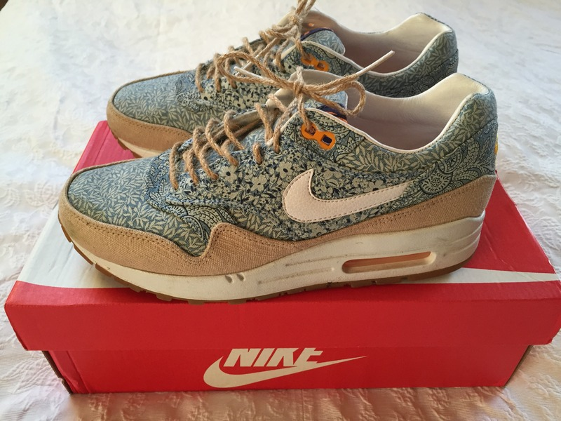 cheaper 1a280 8bfea ... Nike Air Max 1 Liberty of London Collection 2014 - photo 5 6 .