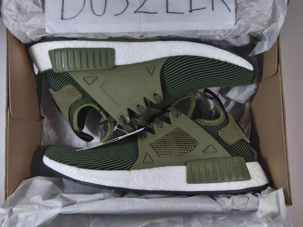 <strong>ADIDAS</strong> <strong>NMD</strong> <strong>XR1</strong> PRIMEKNIT OLIVE 4US - 13US DS LTD GREEN ROUGH OLIVES CAGED - photo 1/1