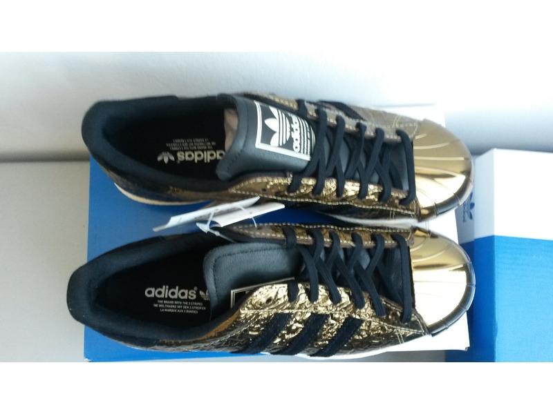 adidas superstar 80s metal gold