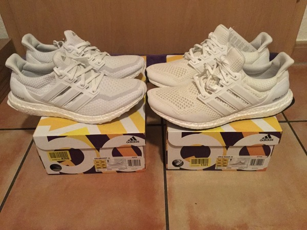 <strong>Adidas</strong> <strong>Ultra</strong> <strong>Boost</strong> 1.0 Key City Pack + 2.0 All <strong>Triple</strong> <strong>White</strong> - photo 1/1