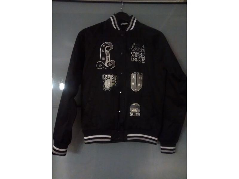 ... Nike x Parra Lovely Loners Collection Bomber Jacket Patta BlackGray S -  photo ... 545f5ba53