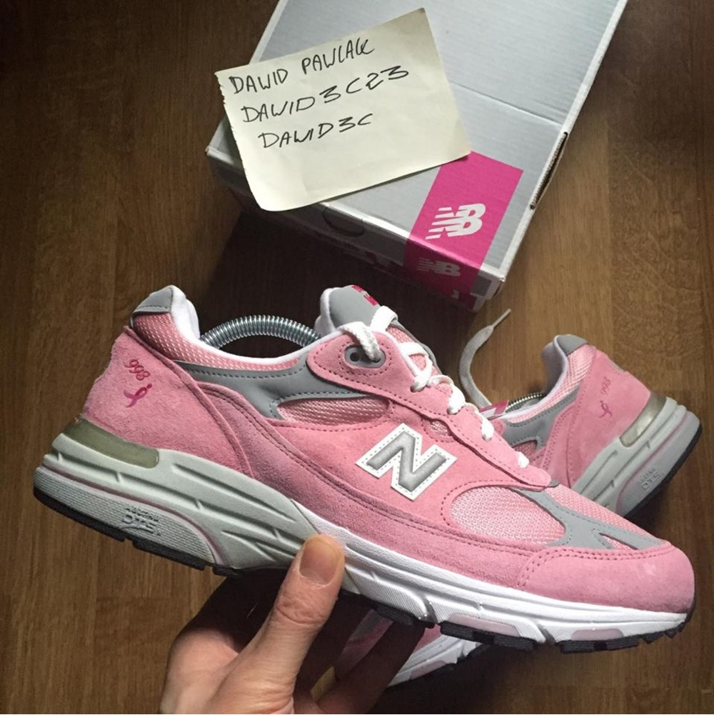 finest selection bf739 6c9dc pink 993 new balance shoes