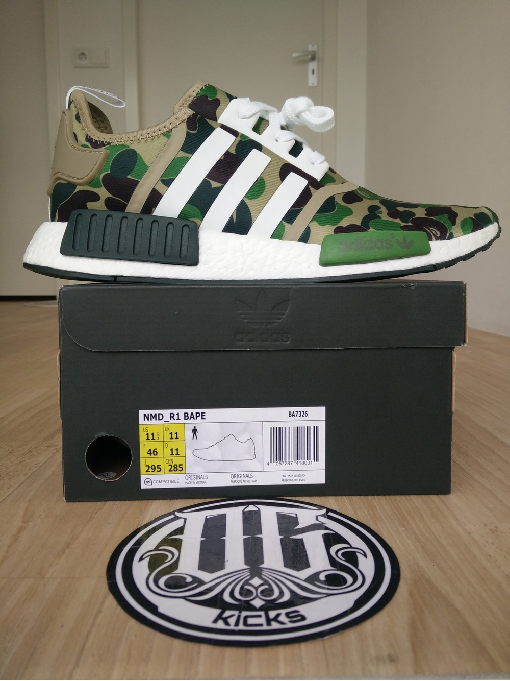 Adidas NMD R1 VILLA ECLUSIVES BRAND NEW IN THE BOX SIZE