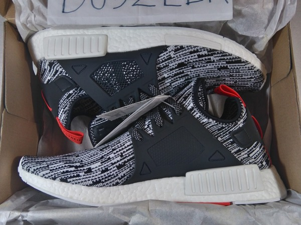 <strong>ADIDAS</strong> <strong>NMD</strong> <strong>XR1</strong> PRIMEKNIT GLITCH CAMO 4.5US 6US 6.5US 12.5US DS LTD OREO BLACK WHITE - photo 1/3
