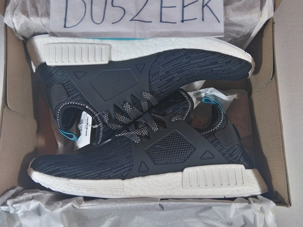 <strong>ADIDAS</strong> <strong>NMD</strong> <strong>XR1</strong> PRIMEKNIT UTILITY BLACK 5US 5.5US 7.5US DS GREY DARK CAMO LTD LIMITED BLUE TAB PK - photo 1/3