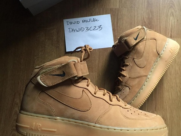Nike Air Force 1 Mid Flax - photo 1/2