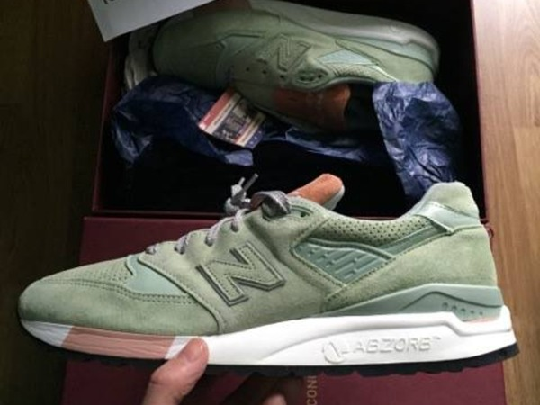 New Balance 998 Concepts Tannery - photo 1/1