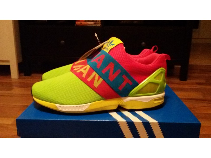 the latest 6b0ea 46970 Adidas Zx Flux Slip On I Want I Can los-granados-apartment.co.uk