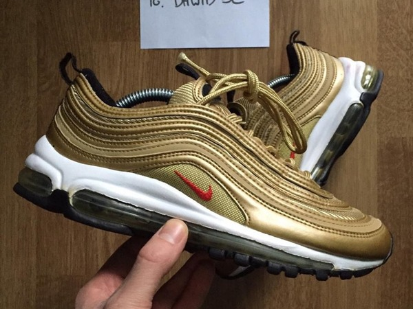Nike Air Max 97 metallic gold - photo 1/2