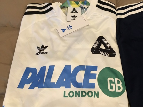Adidas Tee Away x Palace Skateboard White Size M - photo 1/2