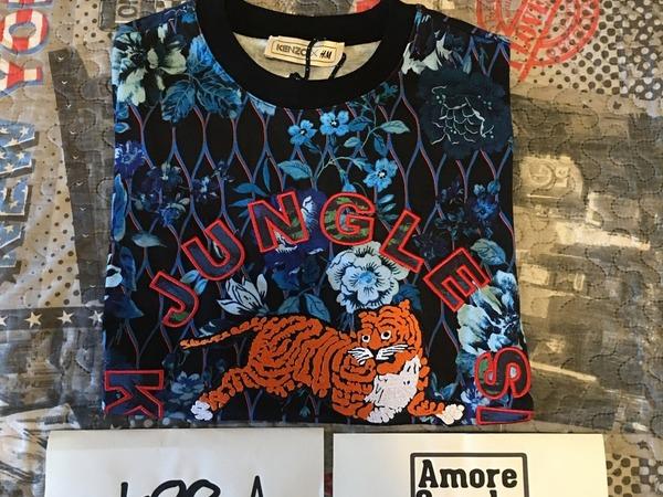 KENZO x H&M T-Shirt Floreal Size M - photo 1/4