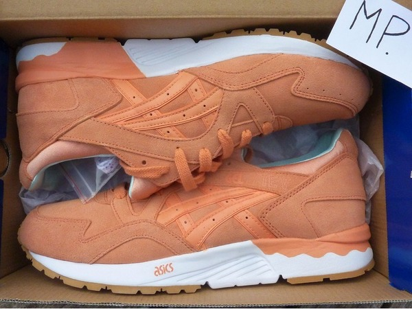"Asics Gel Lyte V ""Fresh Salmon"" Custom by Rudnes Custom Kicks - photo 1/1"