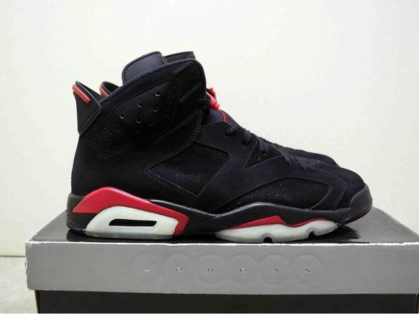 Air Jordan 6 Retro Black/black-varsity red 11 us - photo 1/3