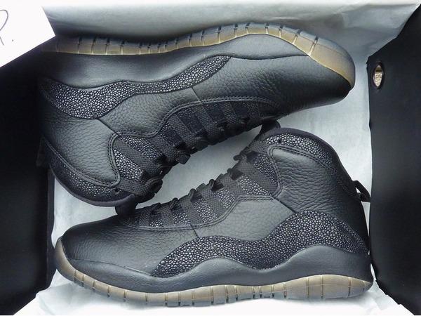 "Air Jordan 10 OVO ""Black"" - photo 1/1"