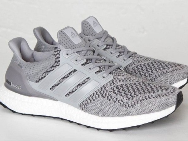 Adidas Ultra Boost Grey wool - photo 1/2