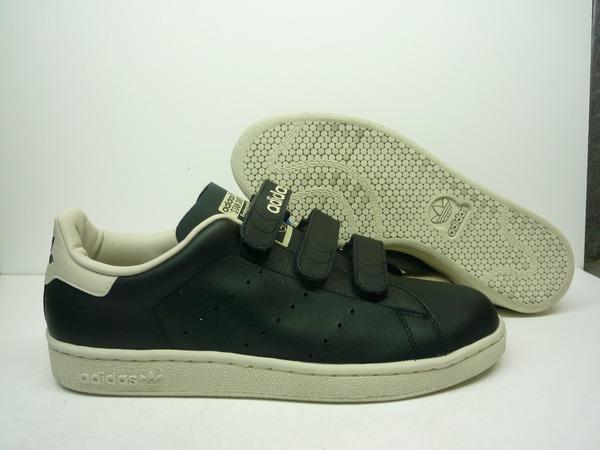 Adidas Stan Smith velcro leather black - photo 1/3