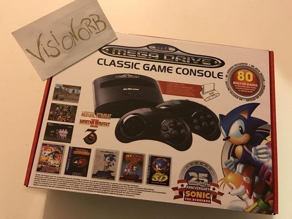 SEGA MEGA DRIVE 25th Sonic Anniversary Edition - photo 1/5