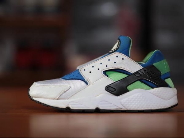 Nike Air Huarache 'Scream Green 99' - photo 1/1