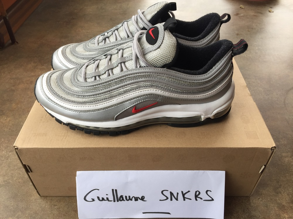 UA Cheap Nike Air Max97 Undefeated White Online UA Air Max 97 UA