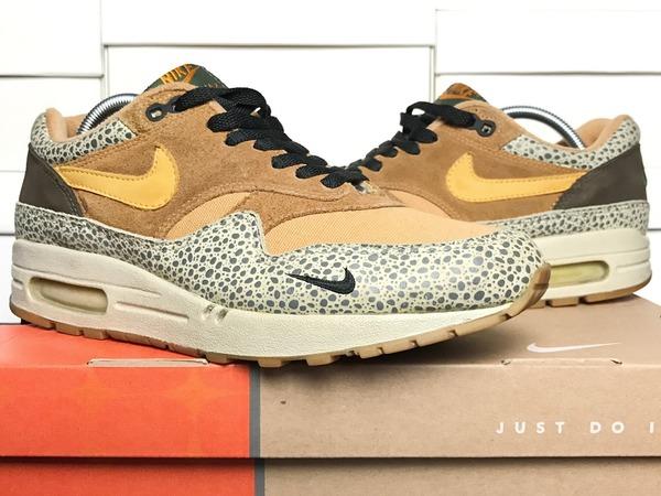 Nike Air Max 1 B 'Atmos Safari' (2002) - UK 8.5 / US 9.5 / EUR 43 / CM 27.5 - photo 1/4