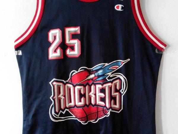 NBA Champion Houston Rockets Horry Jersey Size 44 - photo 1/7