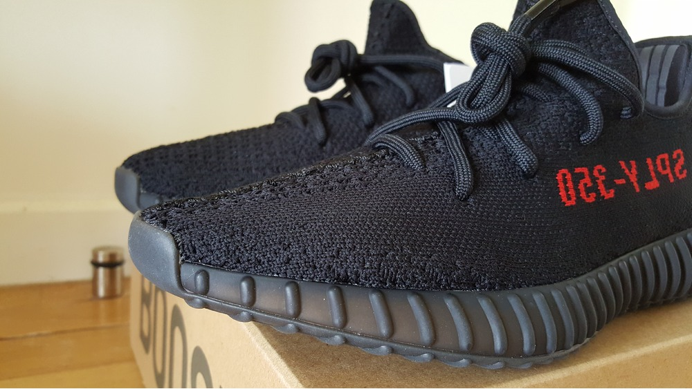 YEEZY BOOST 350 V 2 BRED REVIEW VERLOSUNG.