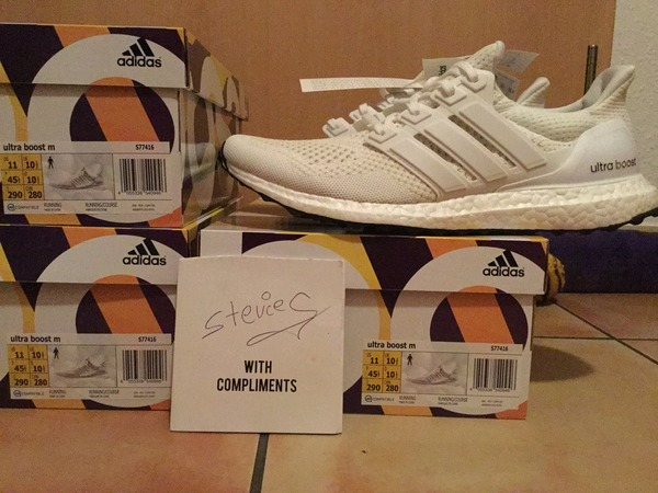 <strong>Adidas</strong> <strong>Boost</strong> <strong>Ultra</strong> <strong>Boost</strong> 1.0 All <strong>Triple</strong> <strong>White</strong> Key City Pack - photo 1/1