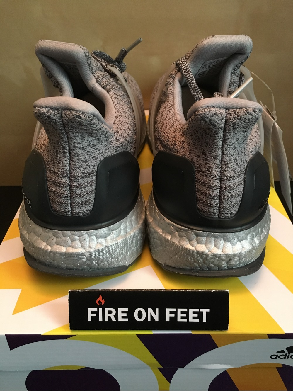 UA Cheap Ultra Boost Sneakers on Sale Uncaged Grey White