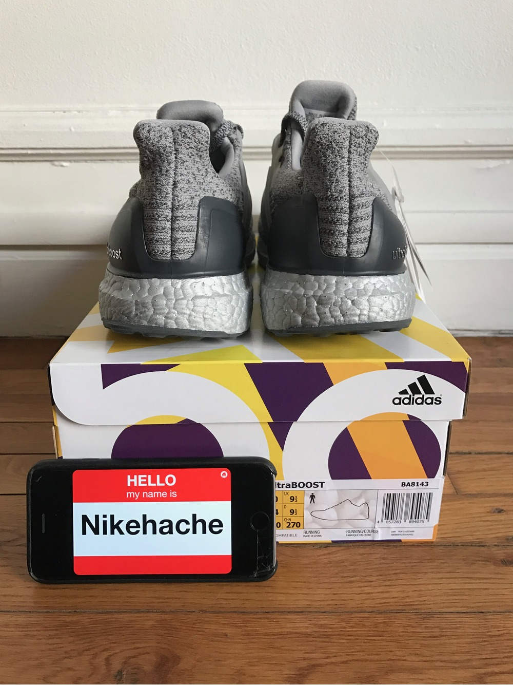 Adidas Ultra Boost 3.0 Silver Pack Size 10.5 and 10