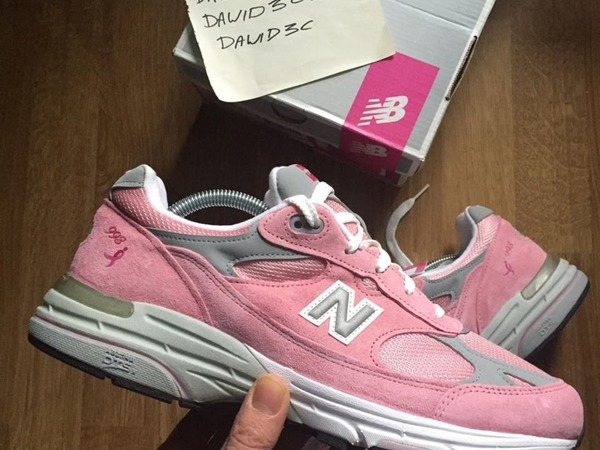 New Balance 993 Pink Made In USA - photo 1/2