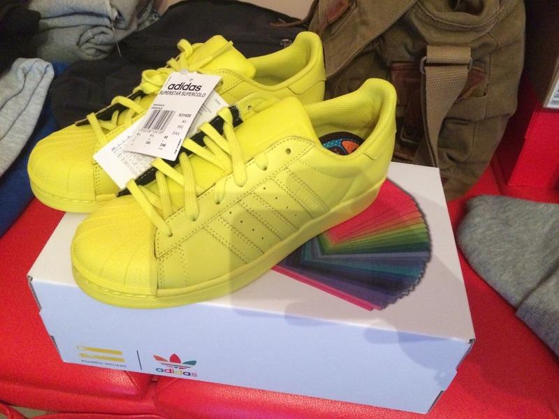 Adidas Superstar Pharrell Williams Supercolor