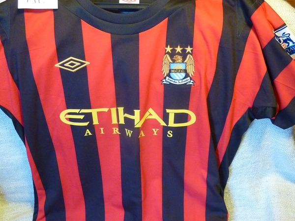 "Manchester City ""Touré Yaya"" Jersey Shirt Official - photo 1/2"
