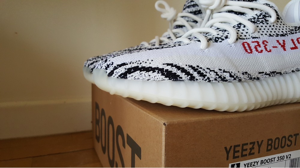 "These Australian stores will stock the Yeezy Boosts 350 V2 ""Zebra"