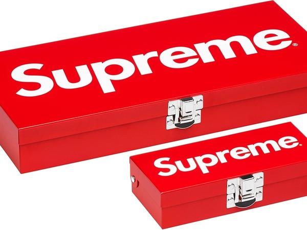 Supreme Metal Storage Box   Small & Large   - photo 1/2