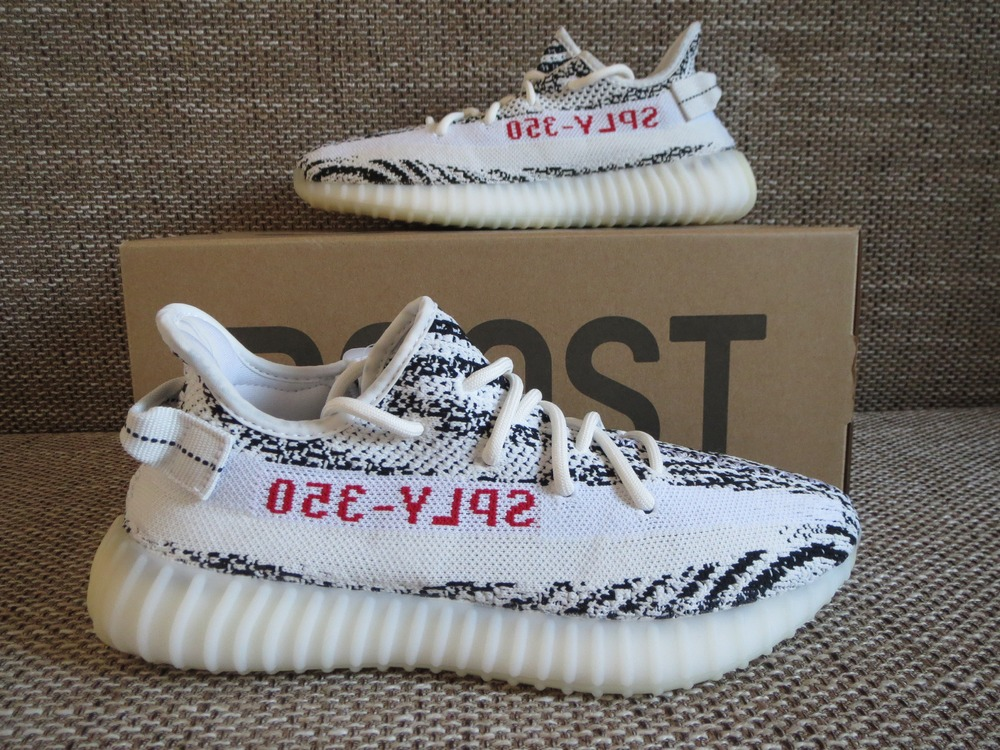 Yeezy 350 Boost V2 all white from shoeking23.org