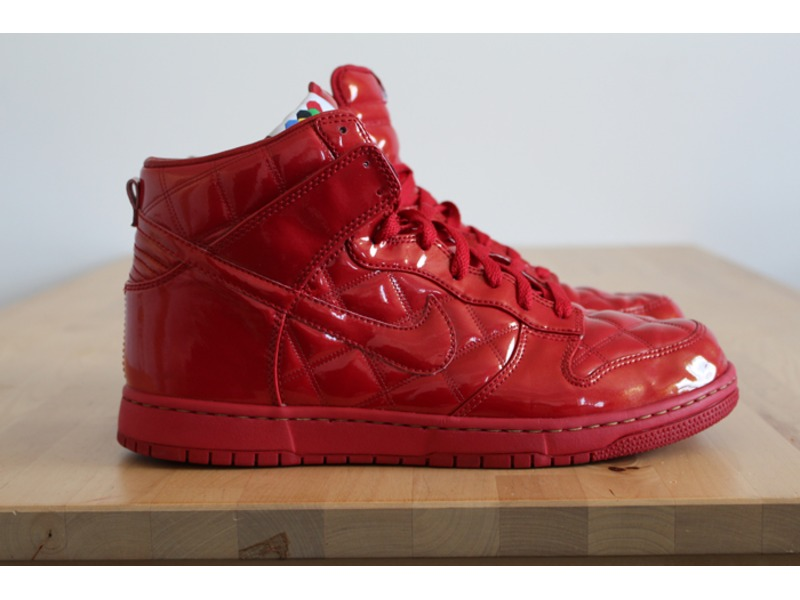 info for b3933 4057f Color Red  Nike Dunk High Supreme Olympic Octagon ...