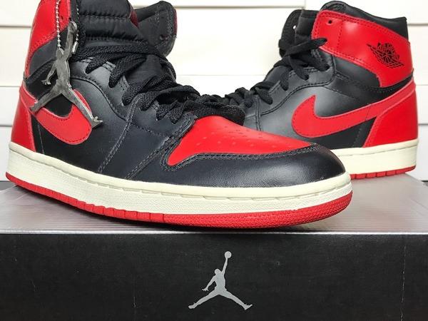 Nike Air Jordan 1 Retro 'Bred' (2001) - UK 8.5 / US 9.5 / EUR 43 / CM 27.5 - photo 1/7