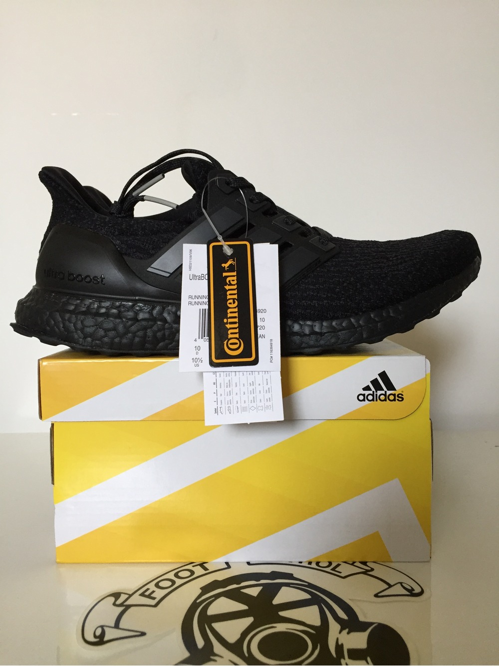 Adidas Ultra Boost 3.0 'Black' UNBOXING & ON FEET fashion shoes