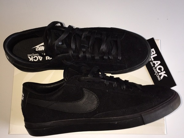 Nike BLACK <strong>COMME</strong> <strong>DES</strong> GARÇONS x Blazer Low CDG Premium - photo 1/6