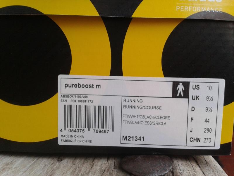 adidas pure boost box