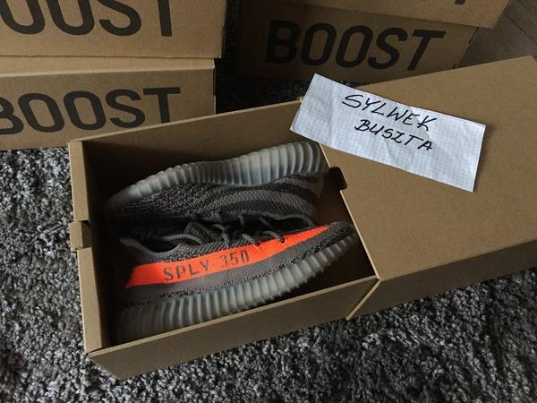Adidas Yeezy Boost 350 V 2 Replica Beluga Gray Orange BB 1826