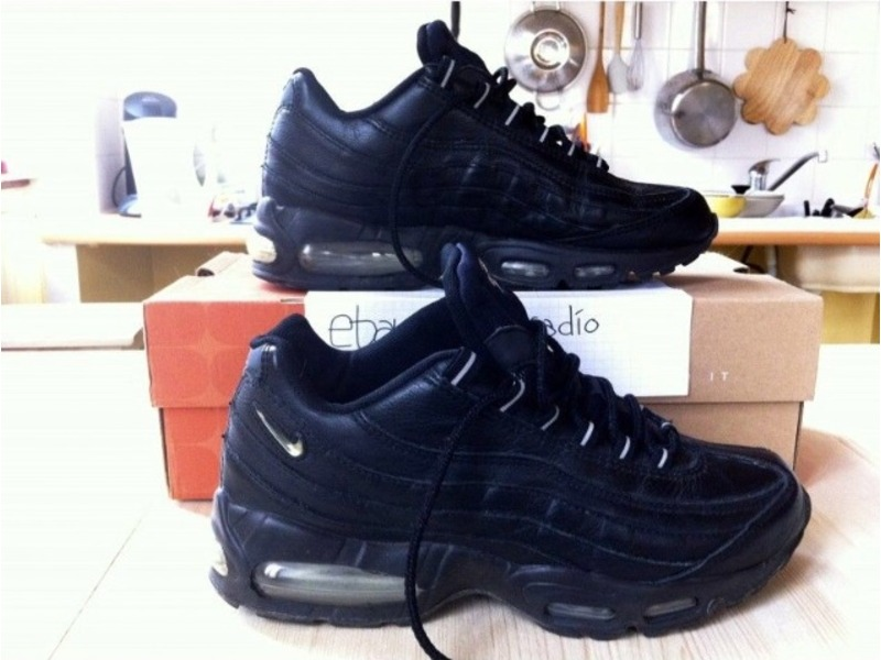 italian leather air max 95
