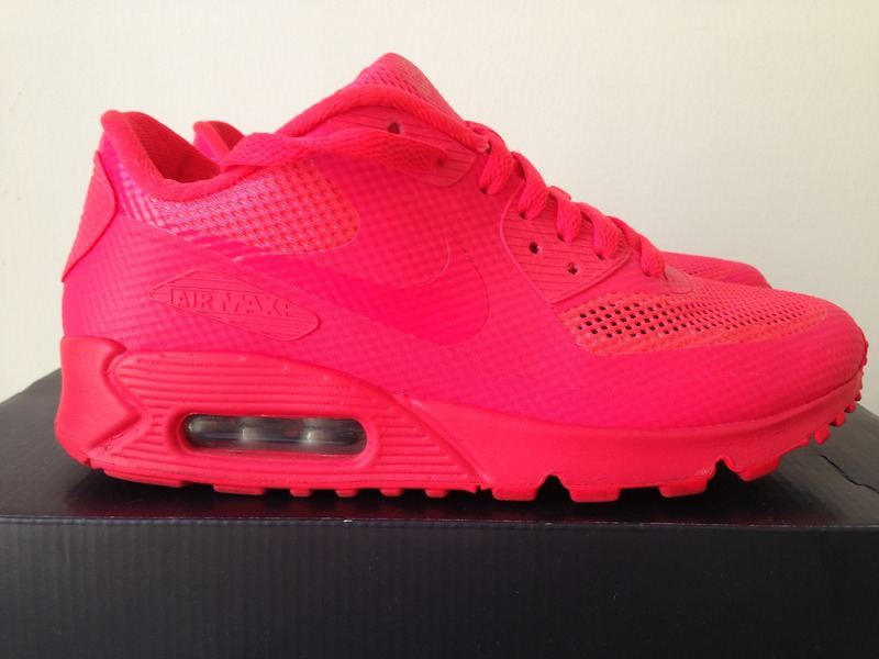 nike air max 90 hyperfuse solar red online