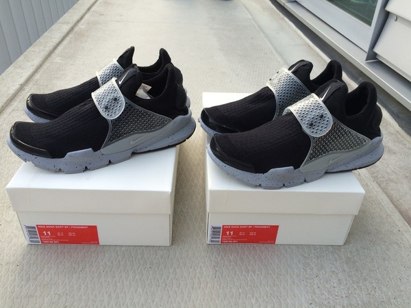 SOLD <strong>Nike</strong> <strong>Sock</strong> <strong>Dart</strong> SP <strong>Fragment</strong> <strong>Oreo</strong> Black/Cement Grey - photo 1/1